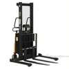 "Stacker with Powered Lift - Adjustable Forks/ Adjustable Support Legs Forks Raise up to 63""  SL-63-AA"