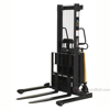 "Stacker with Powered Lift - Adjustable Forks/ Adjustable Support Legs Forks Raise up to 63""  SL-63-AA  b"