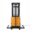 "Stacker with Powered Lift - Adjustable Forks/ Adjustable Support Legs Forks Raise up to 63""  SL-63-AA  e"