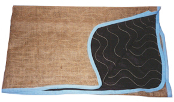"""burlap skins space savers with mole skin and burlap 72"""" X 80"""" GSBSKN7280"""